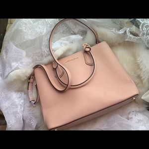 Michael Kors Adele Large Leather Crossbody Bag